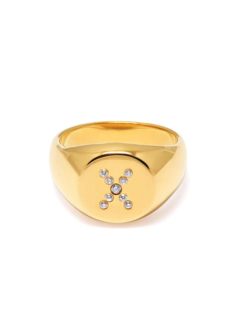 Women's Limited Edition X Ring - Nialaya Jewelry