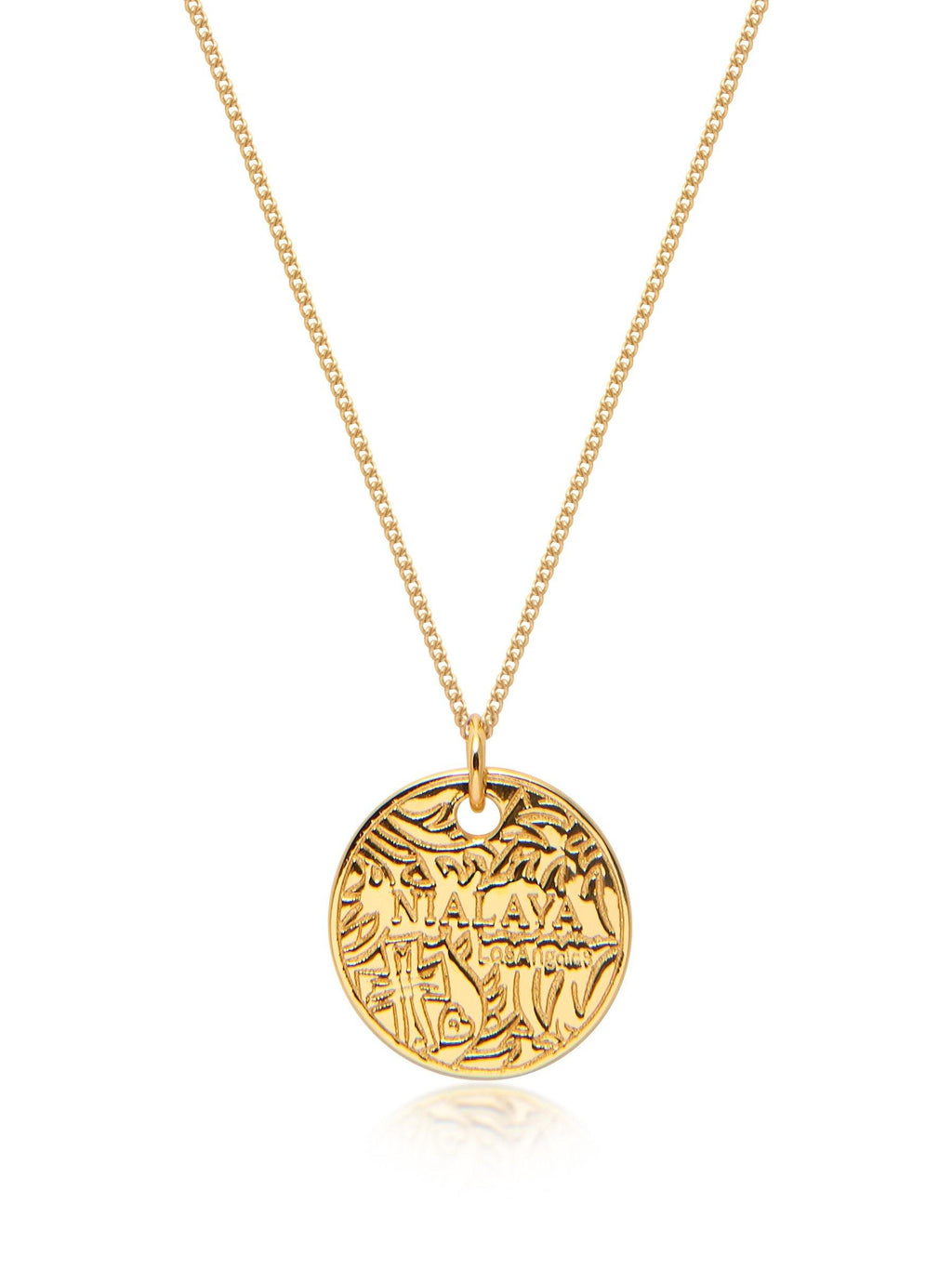 Men's Gold Coin Necklace