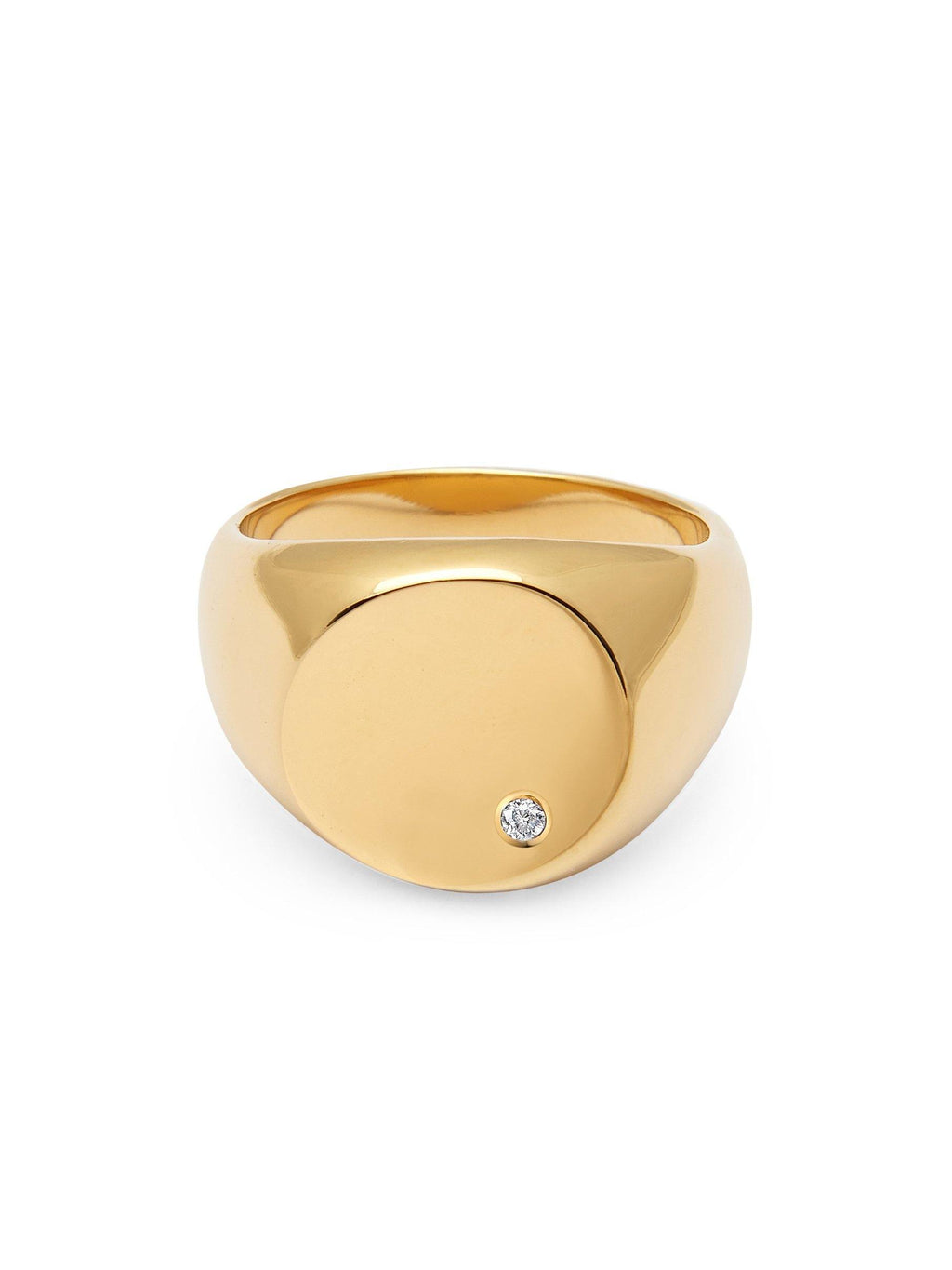 Skyfall Large Signet Ring