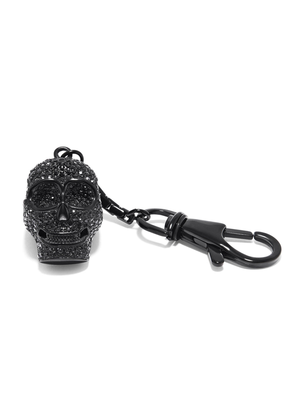Black Skull Key Chain