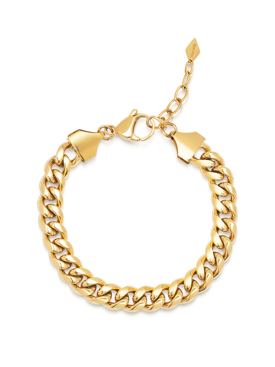 Women's Chain Bracelet in Gold