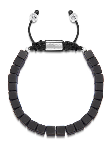 The Squared Bead Collection - Matte Onyx