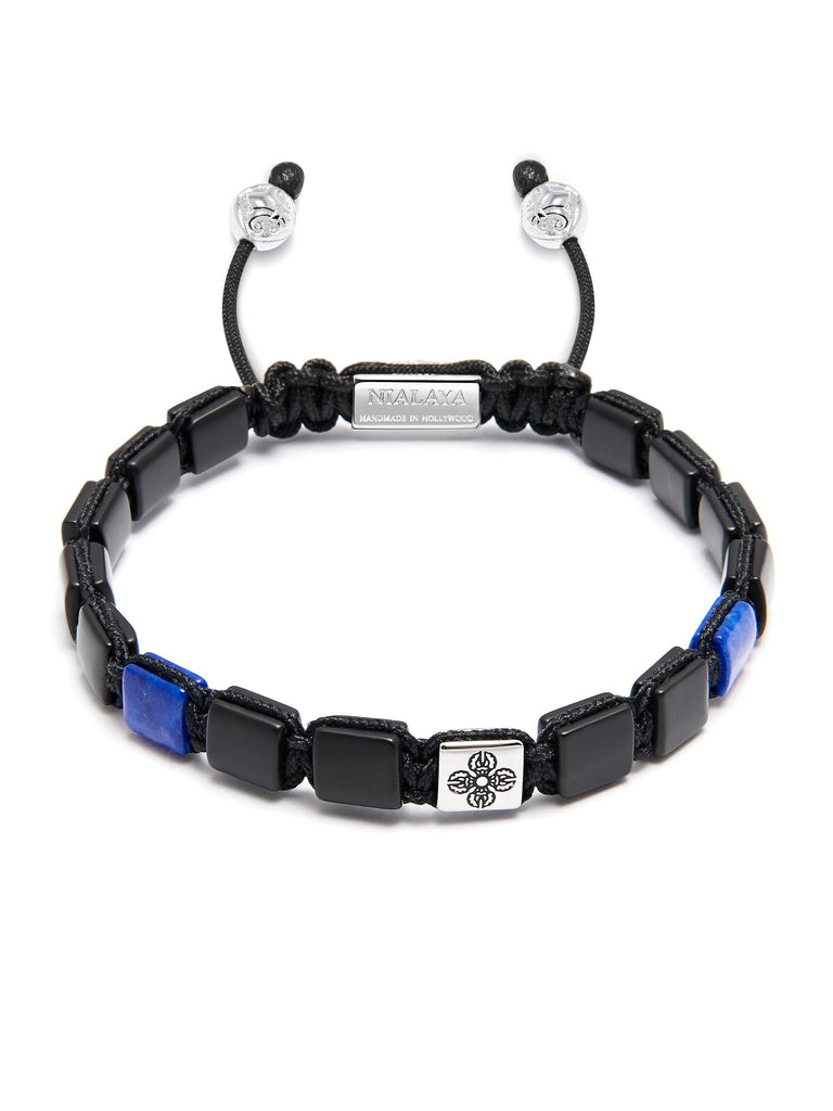 The Mini Flatbead Collection - Matte Onyx and Blue Lapis