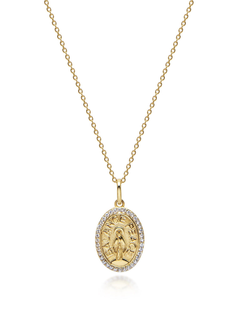 Gold Jesus Necklace - PRE-ORDER