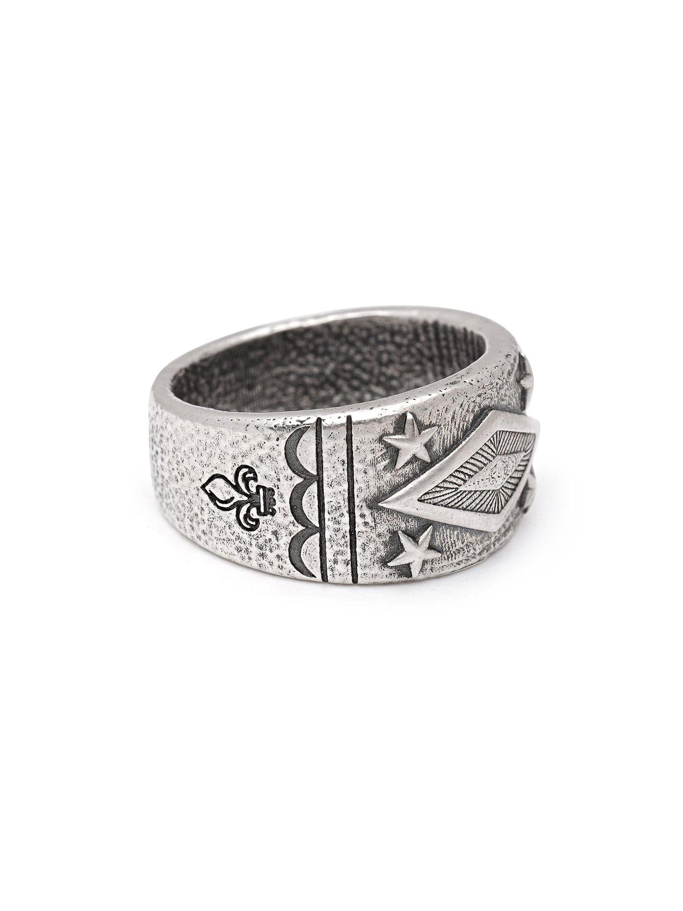 Details about  /NEW $220 NIALAYA Ring Authentic Mens 925 Silver Sterling Band s EU68 US13