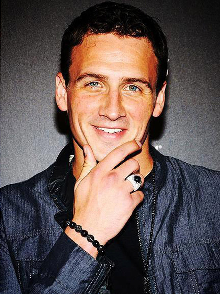 Ryan Lochte - Nialaya Jewelry  - 1
