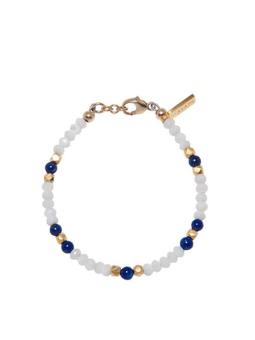 The Capri Collection - Mother Of Pearl and Blue Lapis