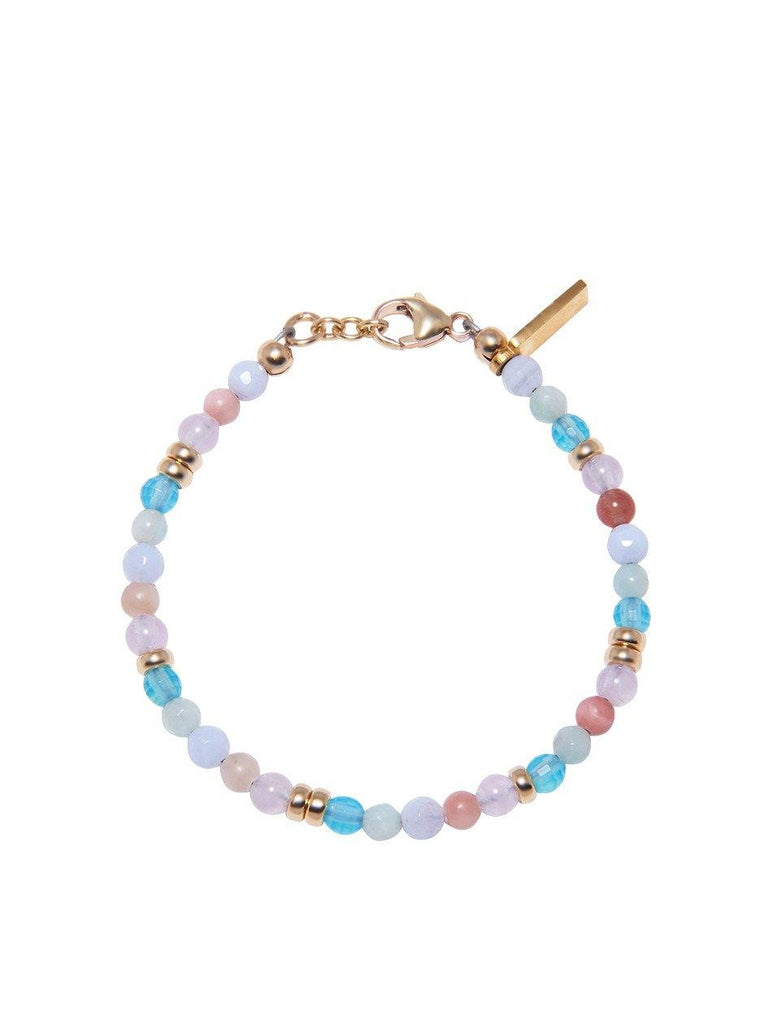 The Capri Collection - Amethyst Lavender, Blue Lace Agate, Cherry Quartz and Aquamarine