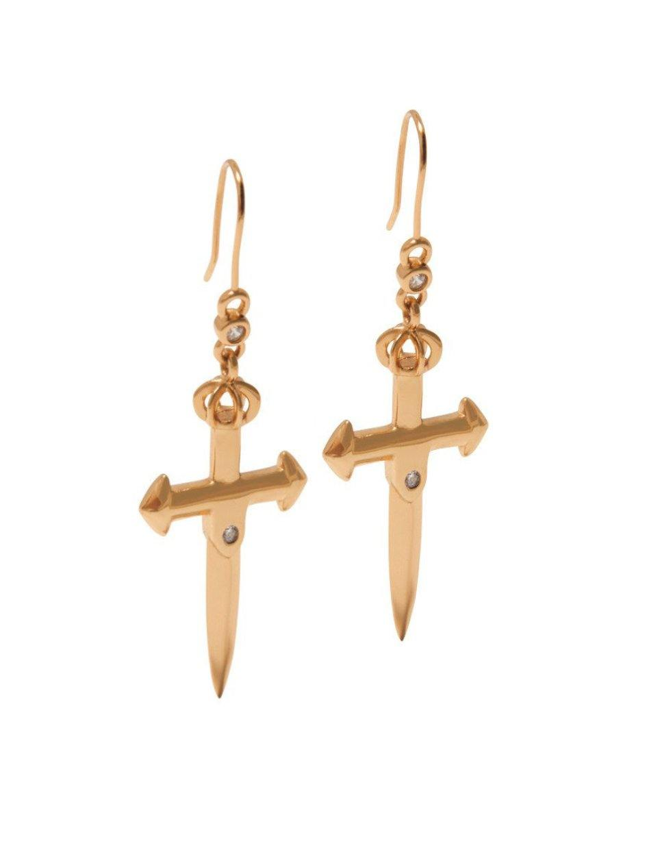 Skyfall Sword Earrings - NIALAYA INC