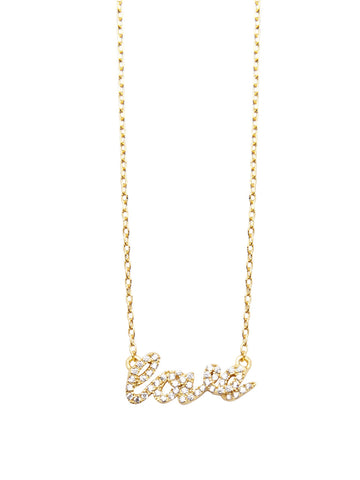 Skyfall Gold Love Necklace