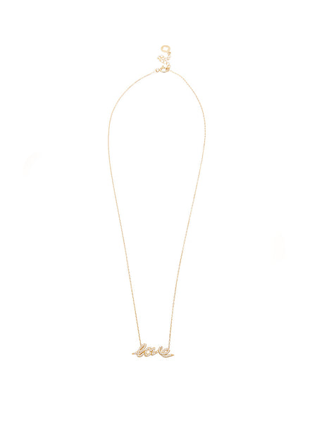 Skyfall Gold Love Necklace - Nialaya Jewelry  - 3