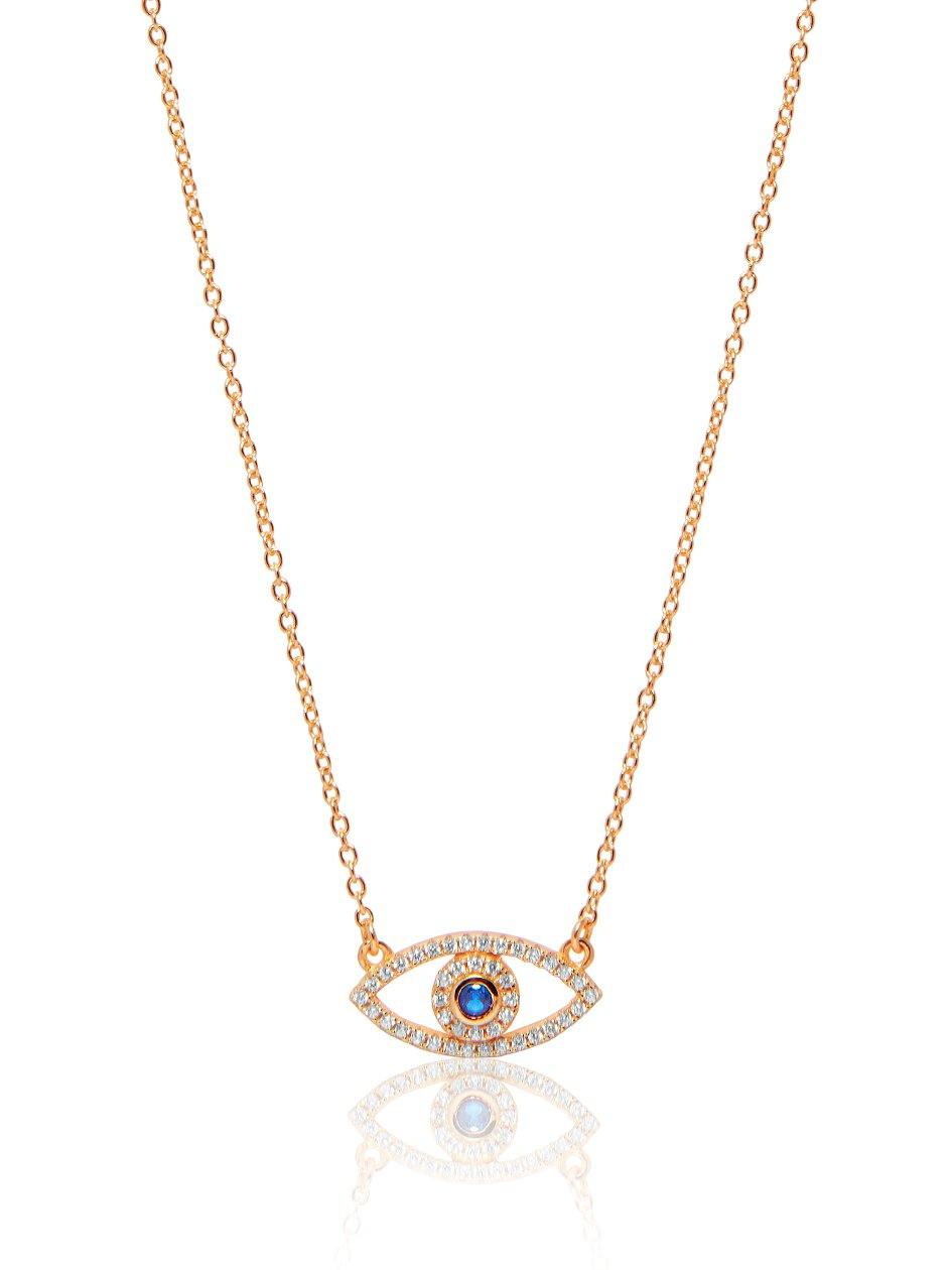 Envious Evil Eye Necklace – Nialaya Jewelry 199b4db2f4
