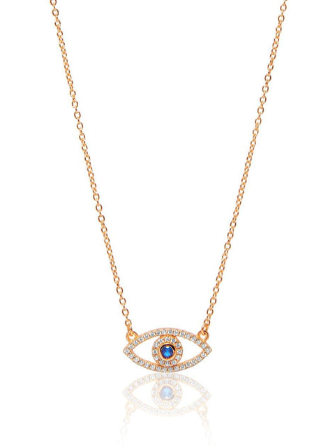 Envious Evil Eye Necklace - NIALAYA INC