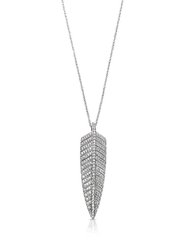 Skyfall Leaf Necklace