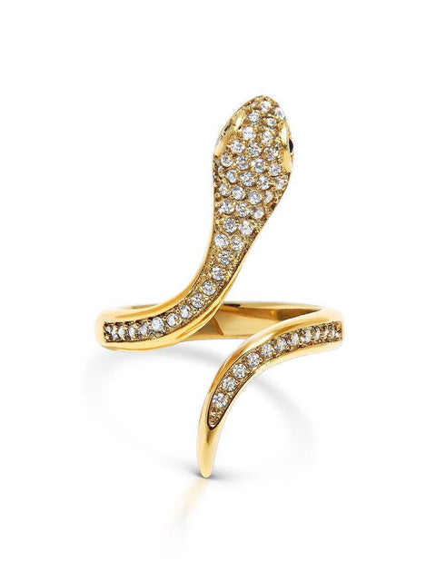 Snake Ring - NIALAYA INC