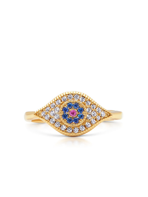 Enchanting Evil Eye Ring