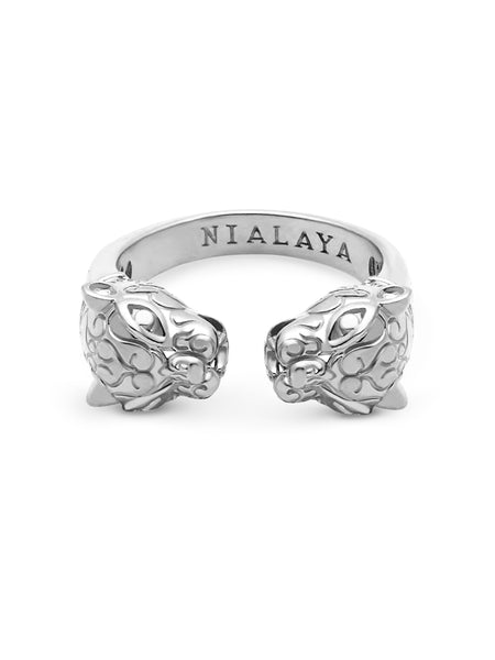 Panther Ring in Silver