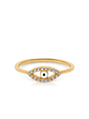 Envious Evil Eye Ring