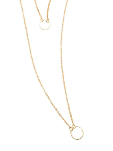 Skyfall Gold Loop Necklace