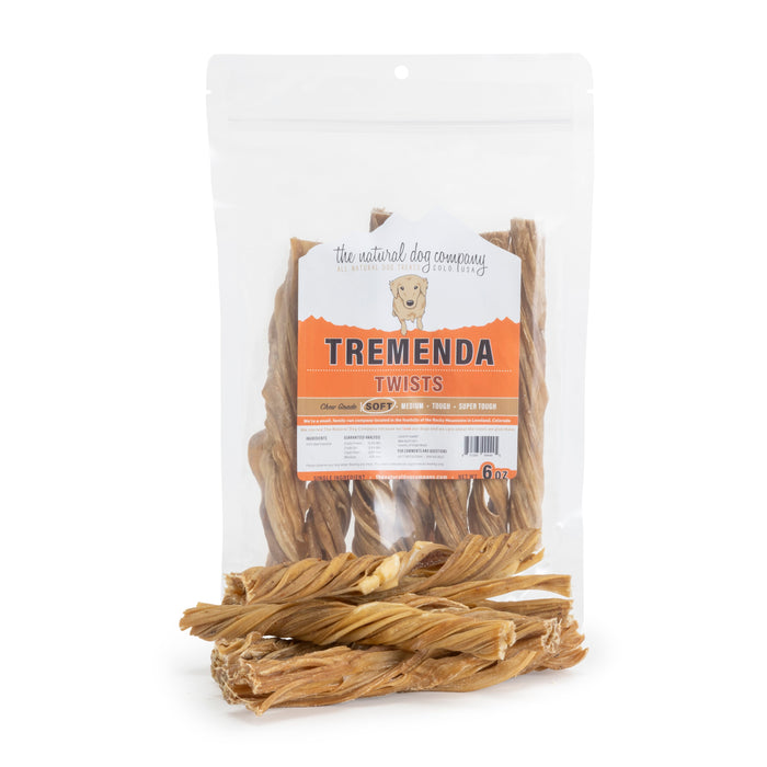 "6"" Tremenda Twists - 6oz"