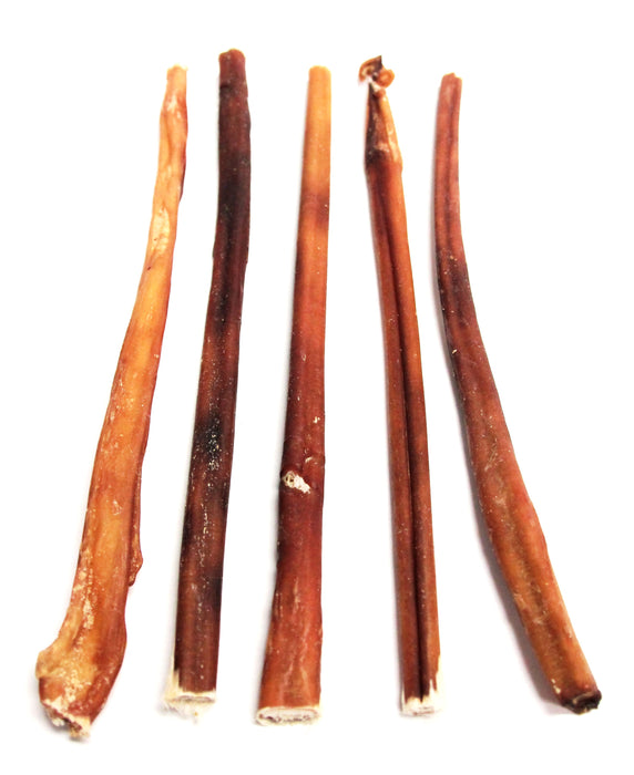 "12"" Skinny Bully Sticks - Odor Free (Bulk)"