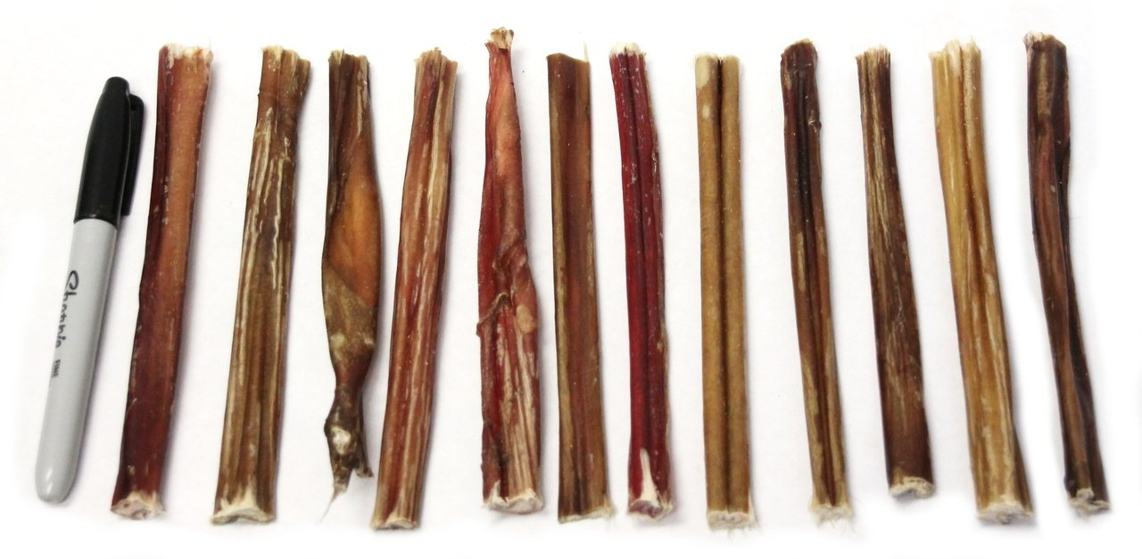 "6"" Skinny Bully Sticks - Low Odor"