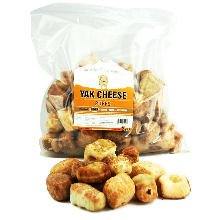 Yak Cheese Puffs - 32 oz Bulk Bag