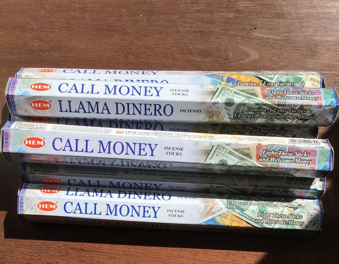 Call Money incense