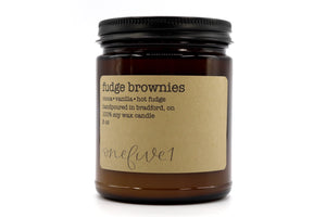 fudge brownies soy candle