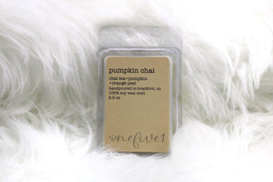 pumpkin chai wax melt
