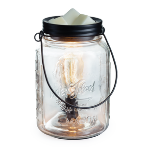 wax melt warmer mason jar table top