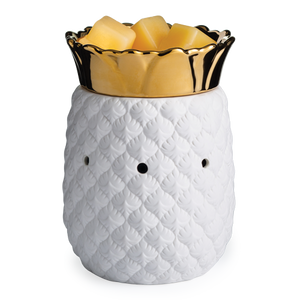 wax melt warmer table top pineapple