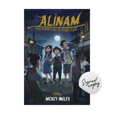 PREORDER SIGNED Alinam: Diego Domingo and the Mandato Ruiz
