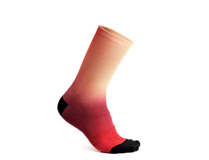 CHAUSSETTES FADING LIGHT - UNISEXE 7,5  - WATERMELON MEDIUM