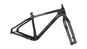 SALSA CADRE DE FAT BIKE BEARGREASE CARBONE SMALL NOIR