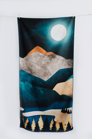 Dark Mountain Towel