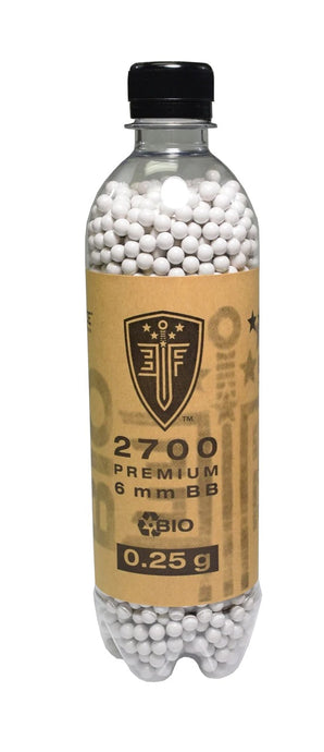 Elite Force Biodegradable Airsoft BBs, .25g, 2700 Rds