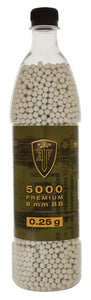 Elite Force Premium BBs, 0.25g, 5000 rounds Elite Force Premium BBs, 0.25g, 5000 rounds