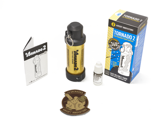 Tornado 2 Gas Powered Timer Grenade GOLD FREE SHIPPING