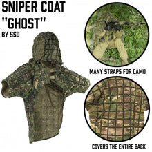 "Load image into Gallery viewer, Sniper Coat ""Ghost"" Multicam"
