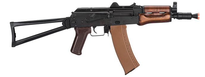 LCT AKS74U Airsoft Rifle w/ Wood Handguard