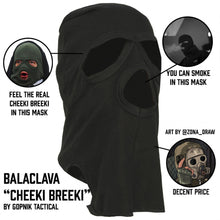 "Load image into Gallery viewer, Balaclava ""Cheeki Breeki"" Digi Flora"