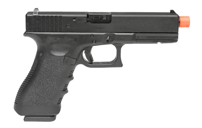 VFC Glock G17 Gen3 Gas Blowback Airsoft Pistol, Black