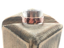 Load image into Gallery viewer, Sterling and Copper Spinner / Fidget Ring