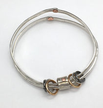 Load image into Gallery viewer, Free Floating Bangle Bracelet (PETITE)