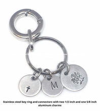 Load image into Gallery viewer, FUNDRAISER - Handstamped Keyring 3RD ORDER