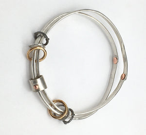 Free Floating Bangle Bracelet (PETITE)