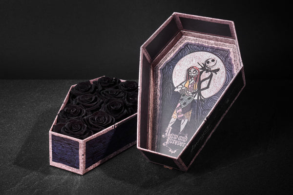 Roseshire x Disney Nightmare Before Christmas Now & Forever Black Roses