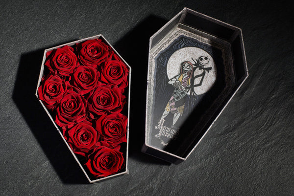 Roseshire x Disney Nightmare Before Christmas Now & Forever Red Roses