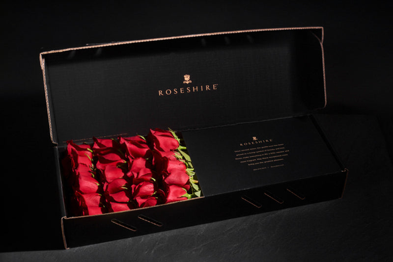Roseshire Premium Red Roses in 2 Dozen Legendary Box